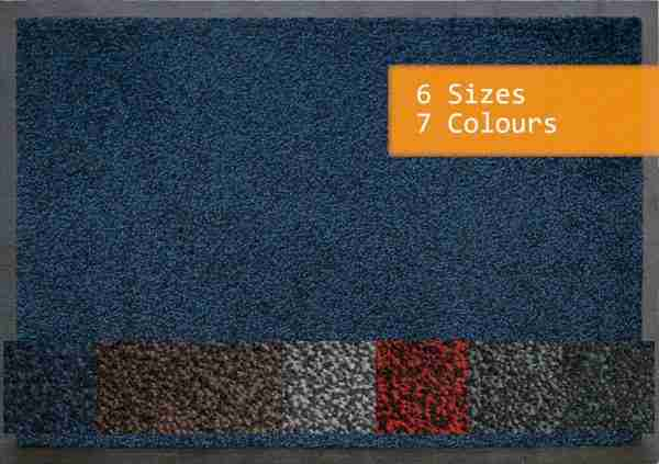 Portifera Access Duo Door Mat with colour swatch