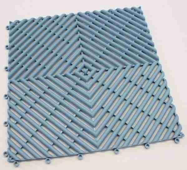 a single piece of Morland Aqua Step Tile in colour pastel blue