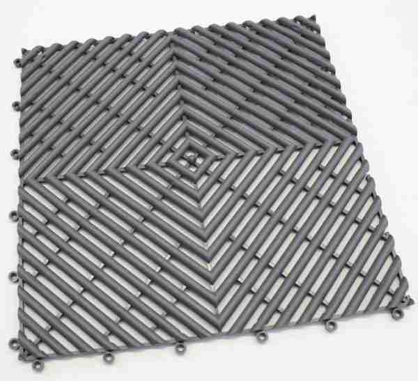 a single piece of Morland Aqua Step Tile in colour graphite