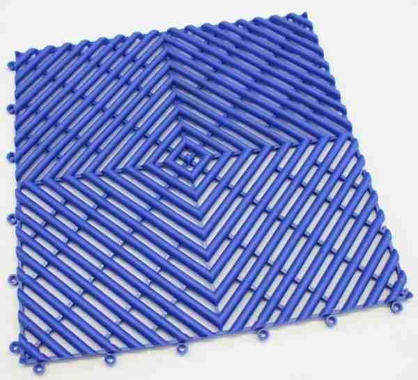 a single piece of Morland Aqua Step Tile in colour dark blue
