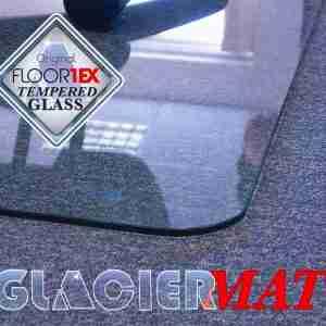 Floortex Glaciermat Premium Tempered Glass Chair Mat